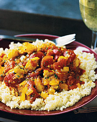 Monkfish Couscous