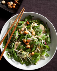 Mixed Asian Salad with Macadamia Nuts