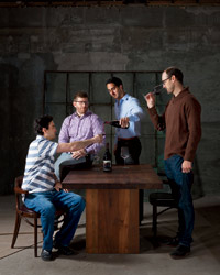Gavin Chanin, Eric Railsback, Brian McClintic and Justin Willett share tips on how to become a master sommelier.