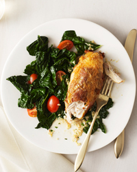 Italian-Style Chicken with Prosciutto and Basil