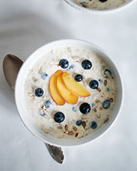 Chilled Make-Ahead Summer Oatmeal