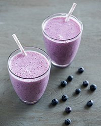 Very Blueberry Smoothie Recipe -Todd Porter and Diane Cu | Food & Wine