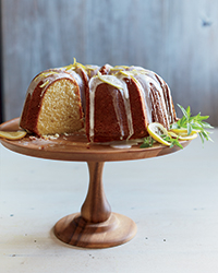Buttermilk Bundt Cake with Lemon Glaze Recipe | Food & Wine