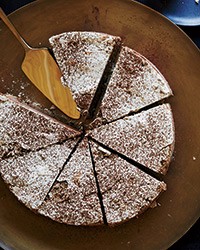 Chocolate and Coffee-Hazelnut Meringue Cake Recipe -Ruben Ortega ...