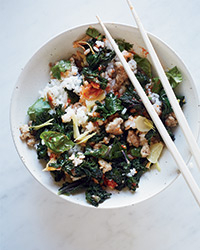 Kale Rice Bowl Recipe -Kay Chun | Food & Wine