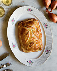 Ham-and-Cheese Puff Pastry Tart Recipe -Mimi Thorisson | Food & Wine