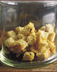Garlic and Thyme Croutons
