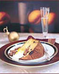 Toasted Panettone with Orange Mascarpone Cream