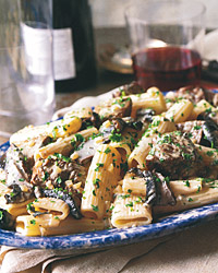 Rigatoni with Sirloin and Gorgonzola Sauce Recipe - Quick From Scratch ...