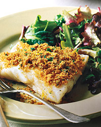 Orange Roughy with Gremolada Bread Crumbs