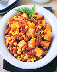 Squash, Bean, and Corn Stew