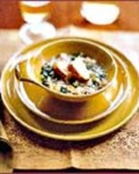 Turkey Escarole Soup with Parmesan