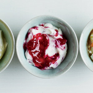 Greek-Style Yogurt with Mixed Berry Conserve