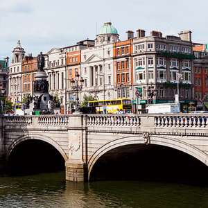 Dublin's O'Connell Bridge