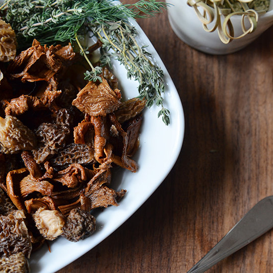 Pickled Golden Chanterelles and Morels