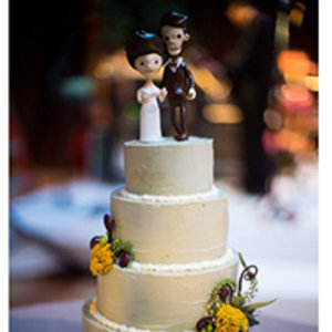 Stephanie Izard's Wedding Cake