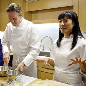 Thomas Keller and Lena Kwak