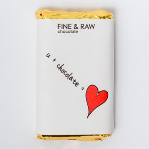 FINE & RAW Valentine's Day Chocolate