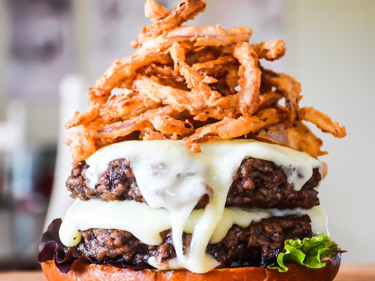 FWX STACKED DOUBLE CHEESEBURGER