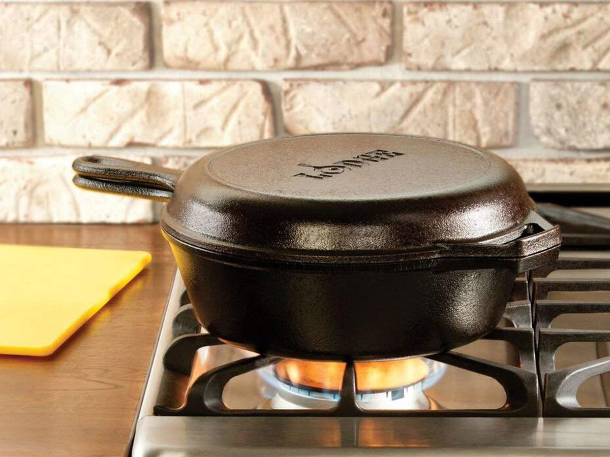 Lodge Cast Iron Pans and Accessories Are on Major Sale for Prime Day
