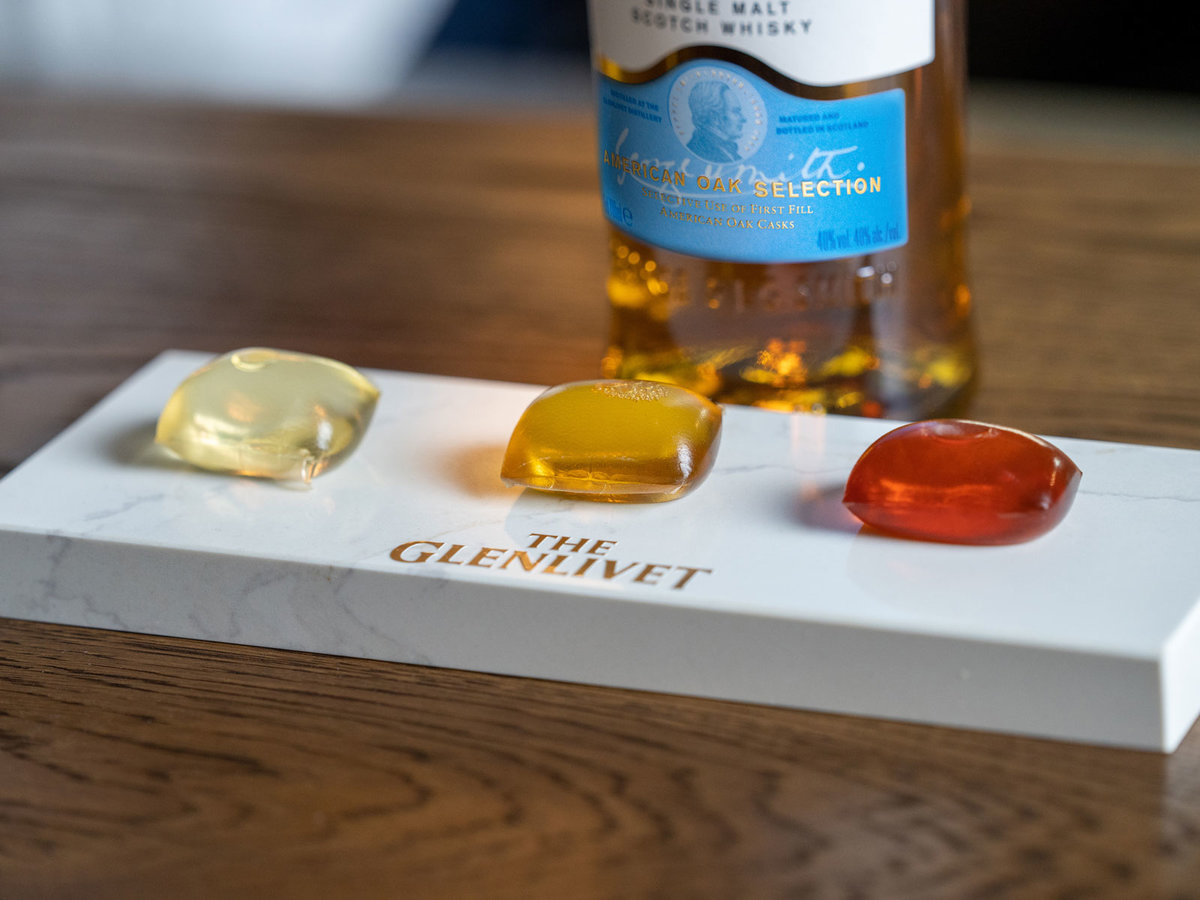 Glenlivet's 'Capsule Collection' Is Sort of Like Gushers, but Whiskey