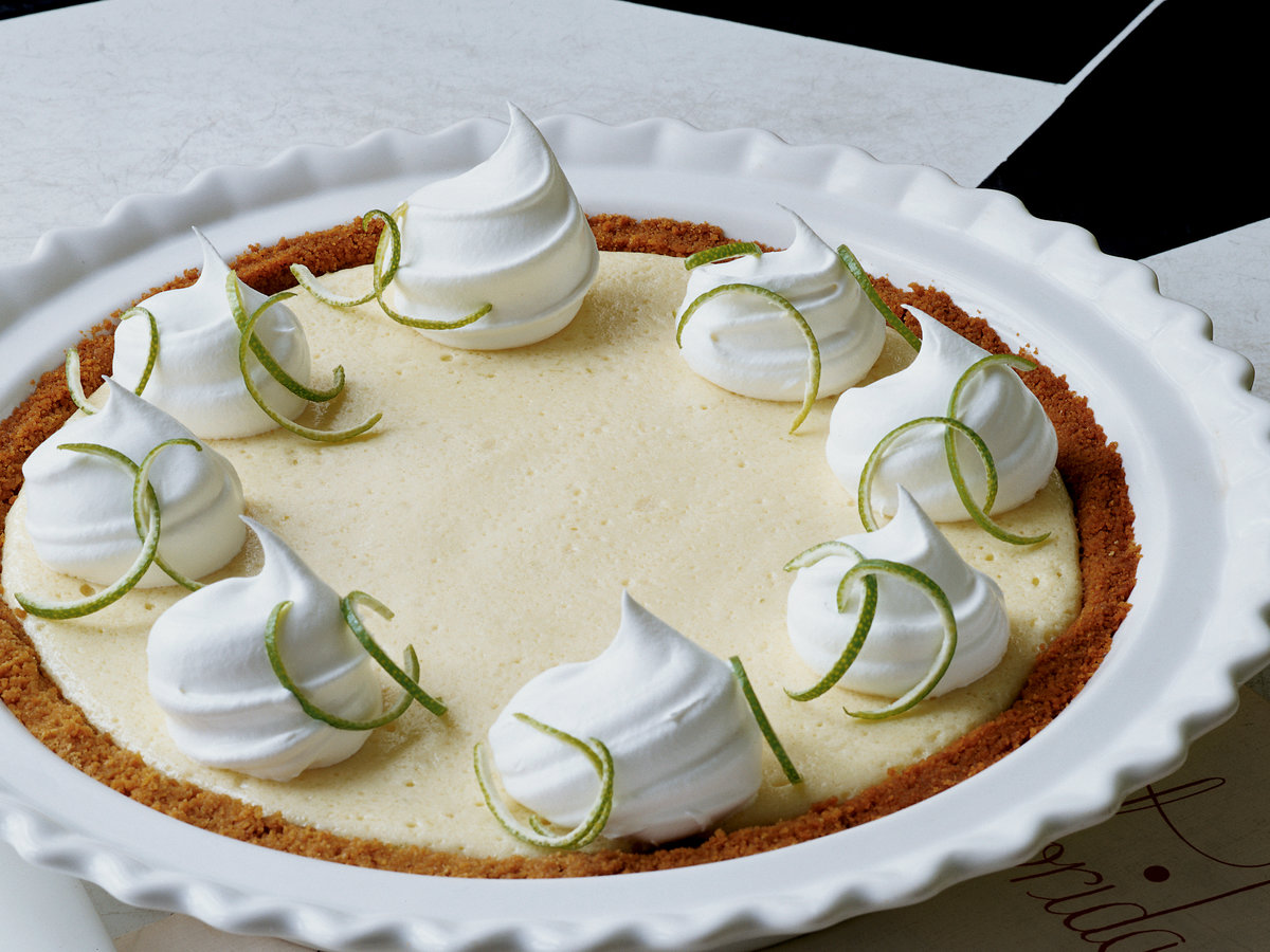Tangy Key Lime Pie Recipe - Marcia Kiesel | Food & Wine