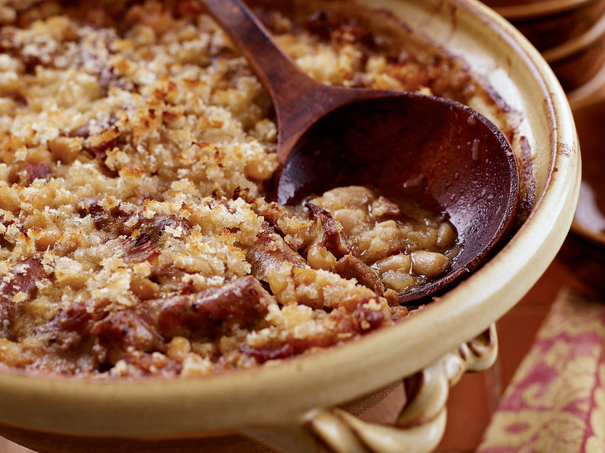 toulouse style cassoulet recipe paula wolfert food wine. Black Bedroom Furniture Sets. Home Design Ideas