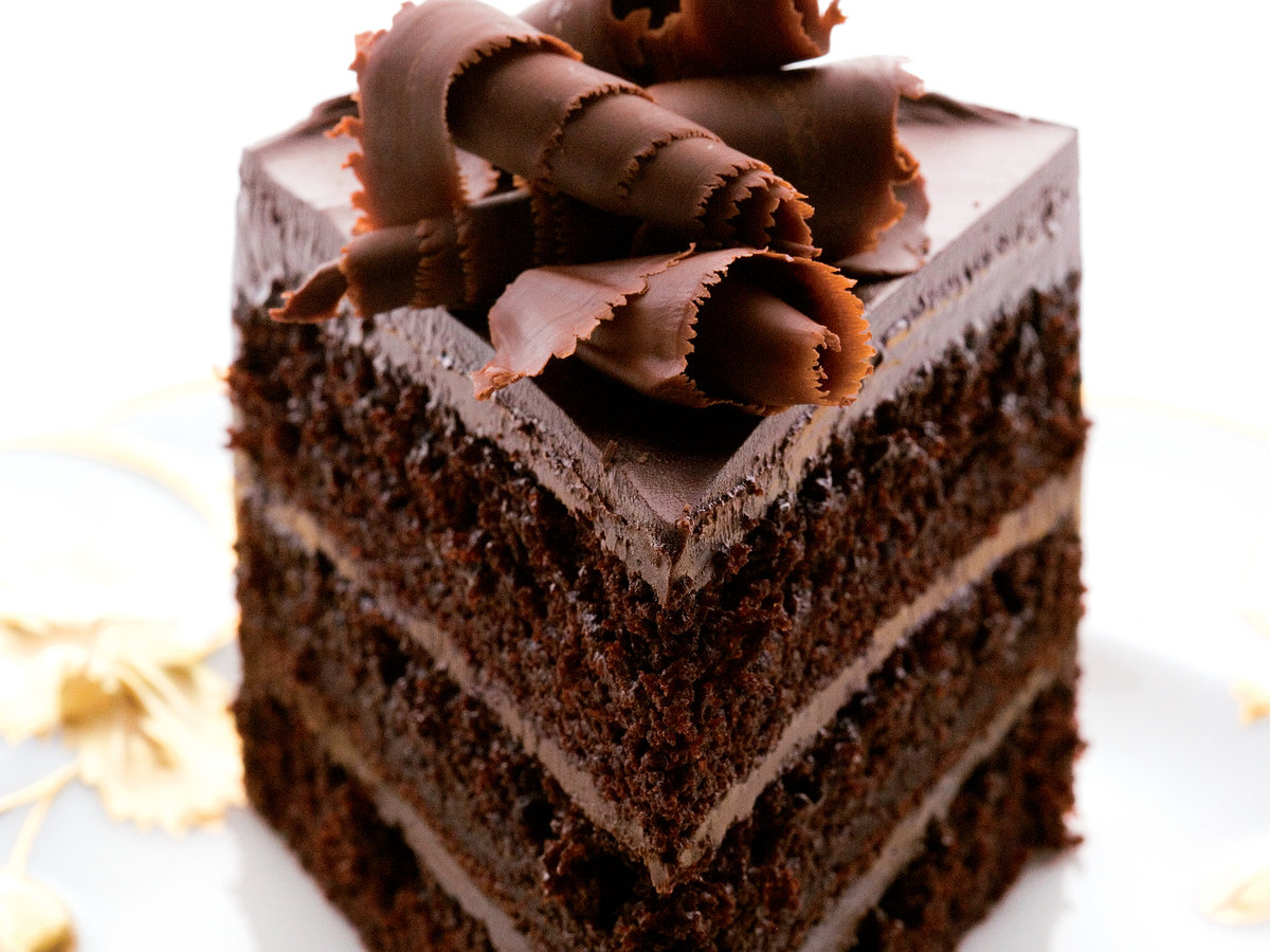 Fudgy Chocolate Layer Cake Recipe - Andrew Shotts