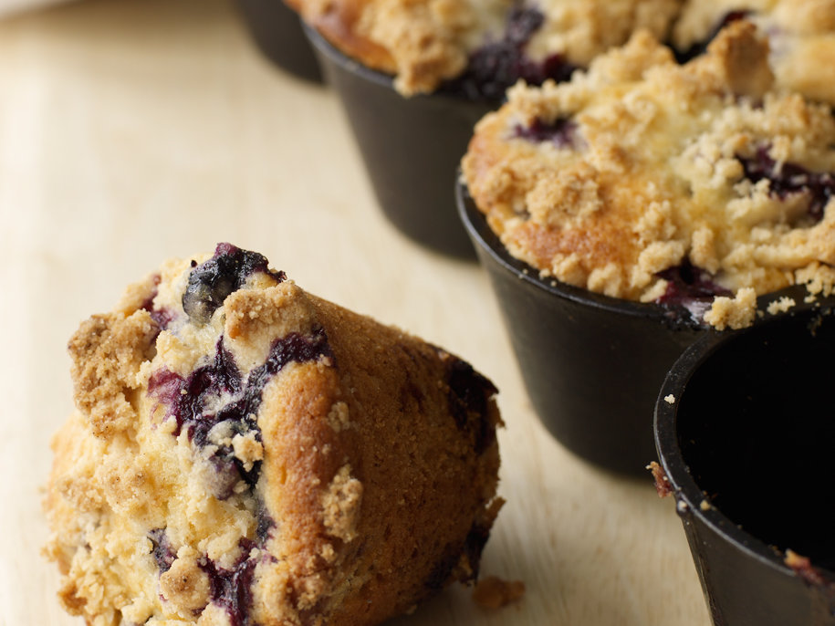 Muffin recipe using blueberry pie filling