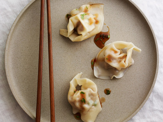 Martin Yan S Wontons In Hot And Sour Sauce Recipe Martin Yan Food Amp Wine