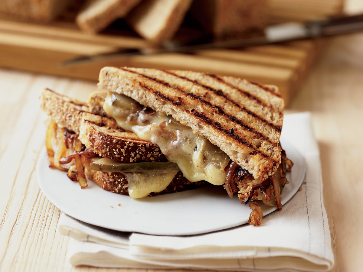 Grilled Gruyère and Sweet Onion Sandwiches Recipe - Grace ...
