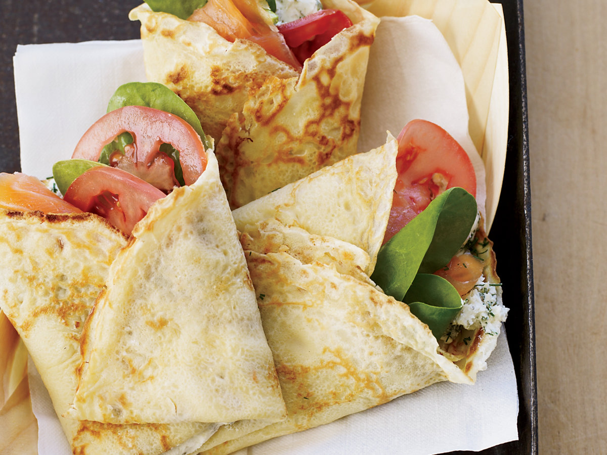 cheese crepes