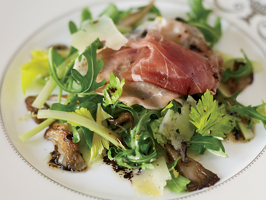 Arugula Salad with Prosciutto and Oyster Mushrooms Recipe ...