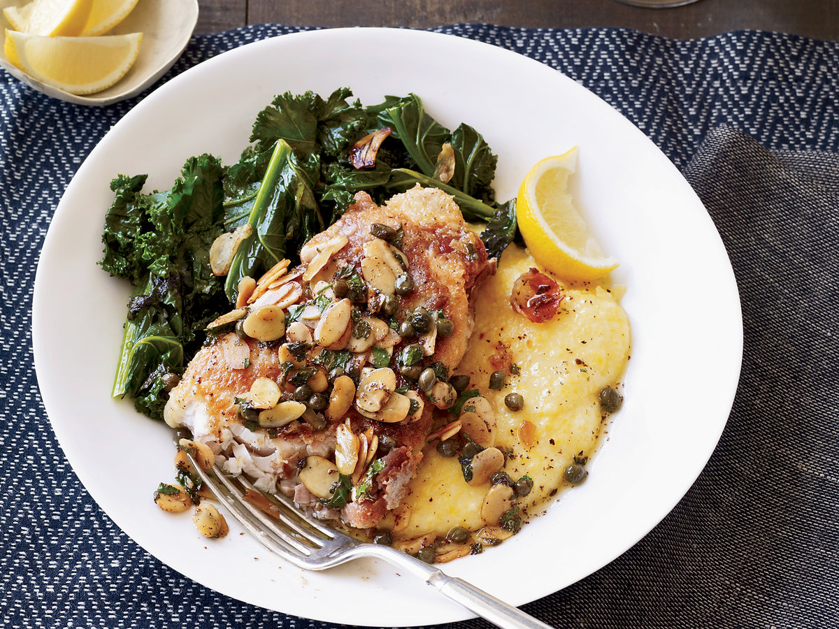 Swordfish piccata recipe john besh food wine for Food bar john roe
