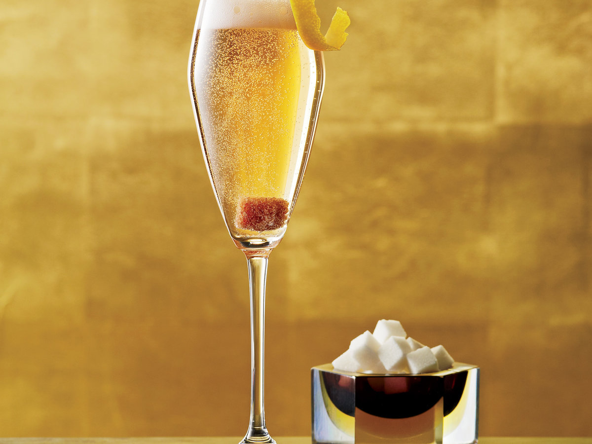 Champagne Cocktail Recipe - Jamie Boudreau