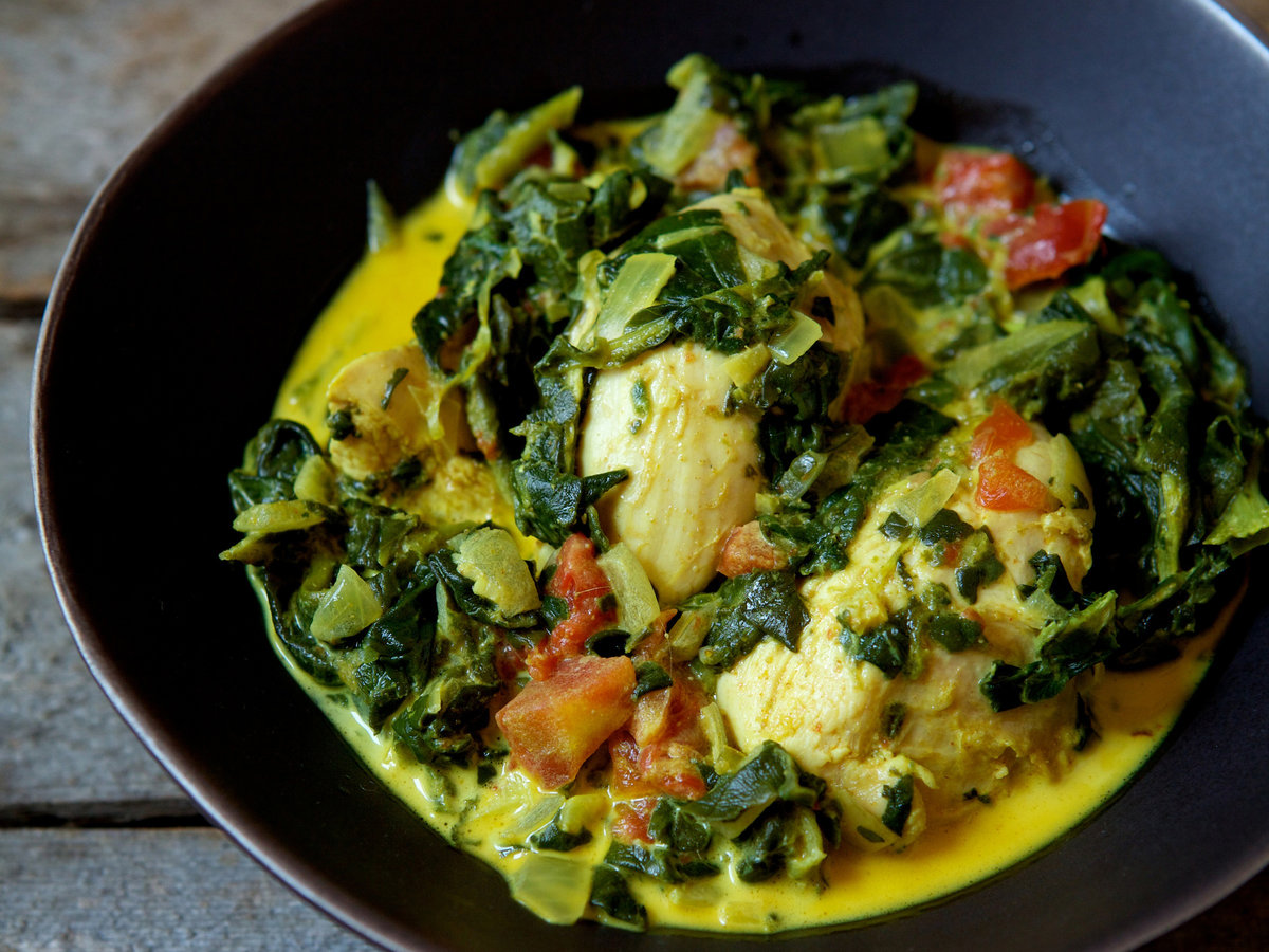 Indian Spiced Chicken And Spinach Recipe Quick From Scratch Chicken Food Amp Wine