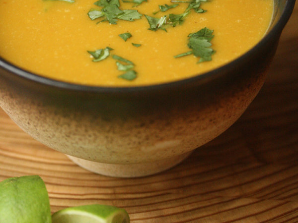 Red Curry Pumpkin Soup