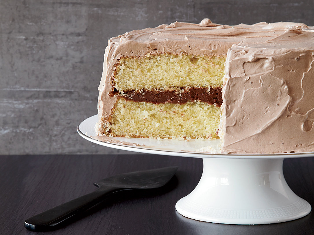 Brown-Butter Layer Cake
