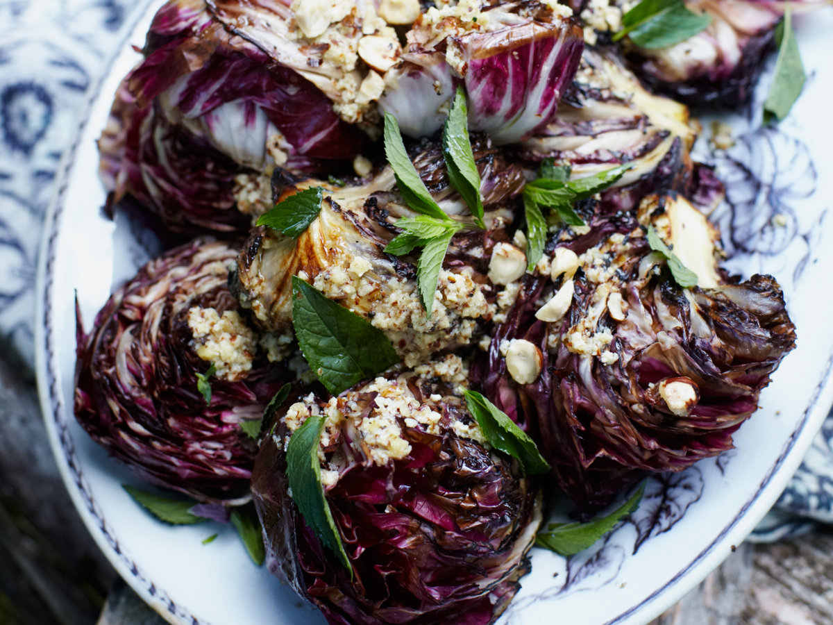 Grilled Radicchio with...