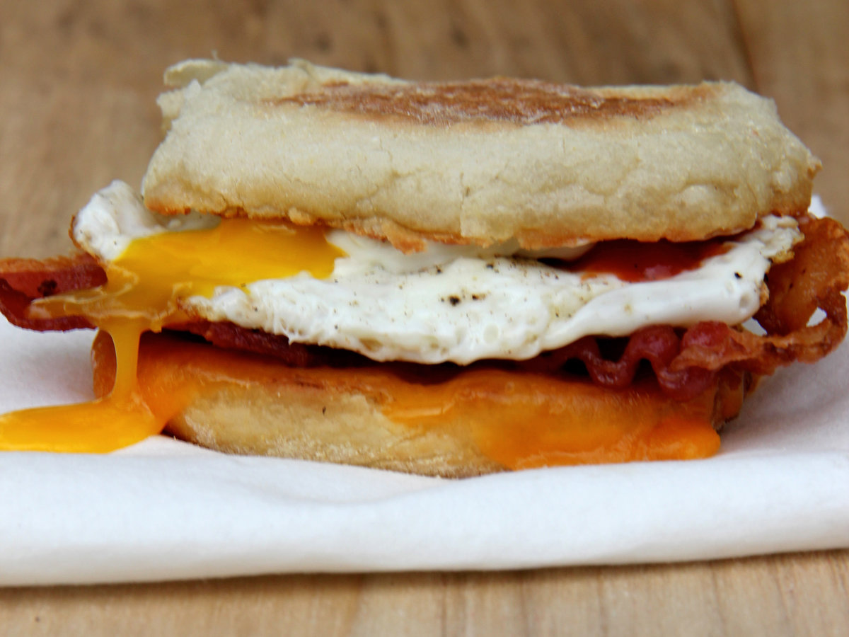 <p>Ultimate Breakfast Sandwiches</p>