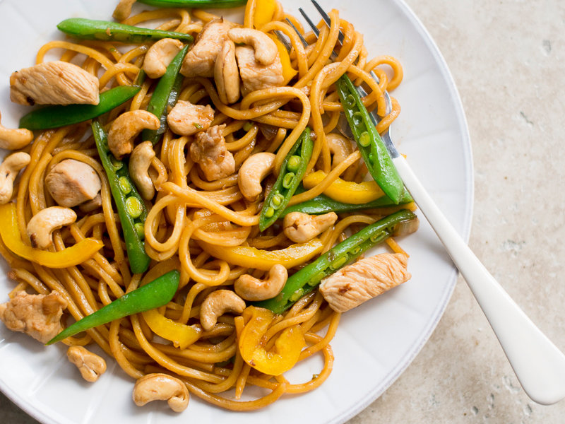 Cashew Chicken Chow Mein Recipe Todd Porter And Diane Cu