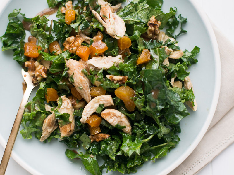 Healthy Chicken And Kale Salad Recipe Todd Porter And Diane Cu Food Amp Wine
