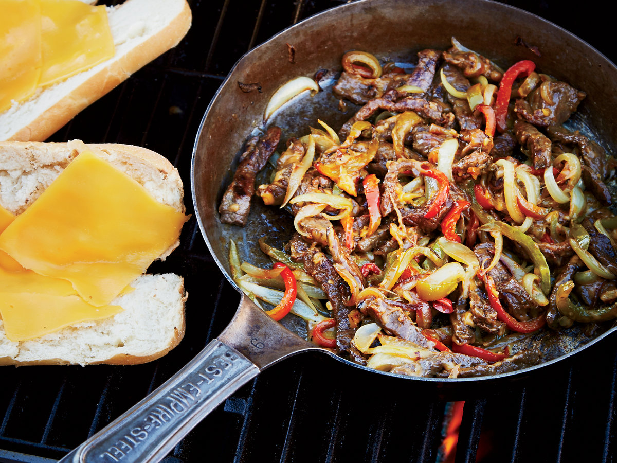 May 14: Grilled Philly Cheesesteaks