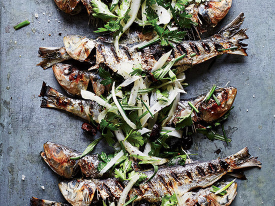 Avoid a Fishy Kitchen, Grill Your Sardines Outdoors