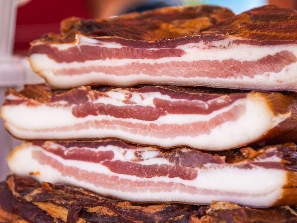Why America Is Stockpiling Tons of Bacon