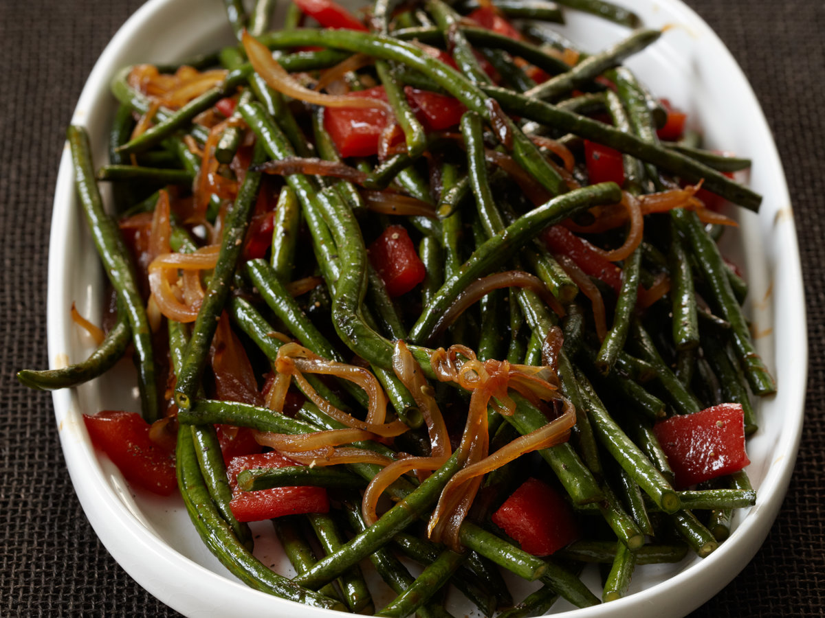 Chinese Long Beans With Cracked Black Pepper Recipe Jean