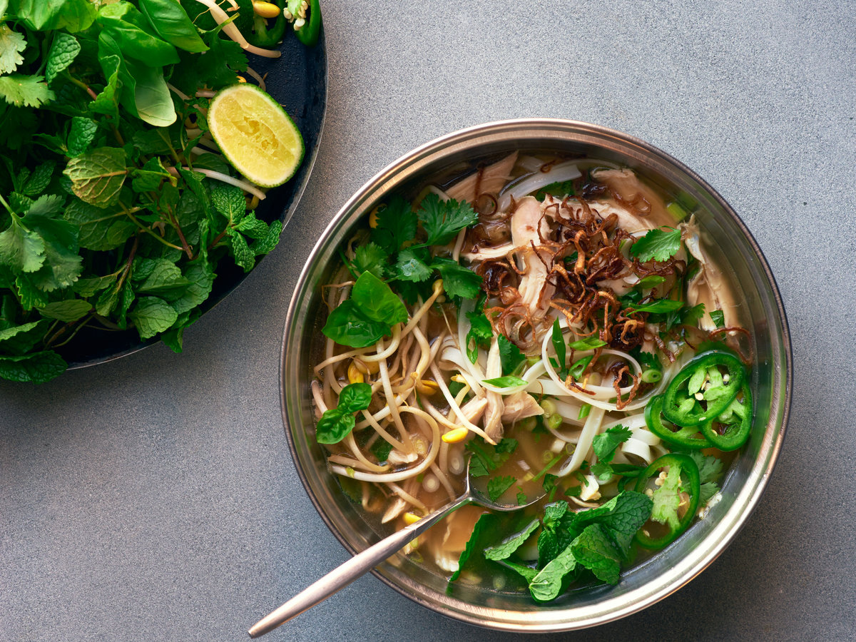 How to Make Chicken Pho | Food & Wine