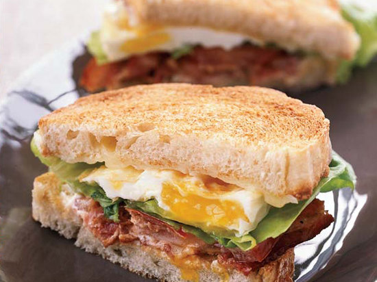 Thomas Keller definitely knows how to make an egg sandwich. (Recipe below.)