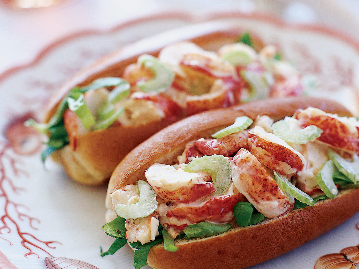Cooking With Champagne Maine Lobster Roll Recipe Sam Hayward Food Amp Wine