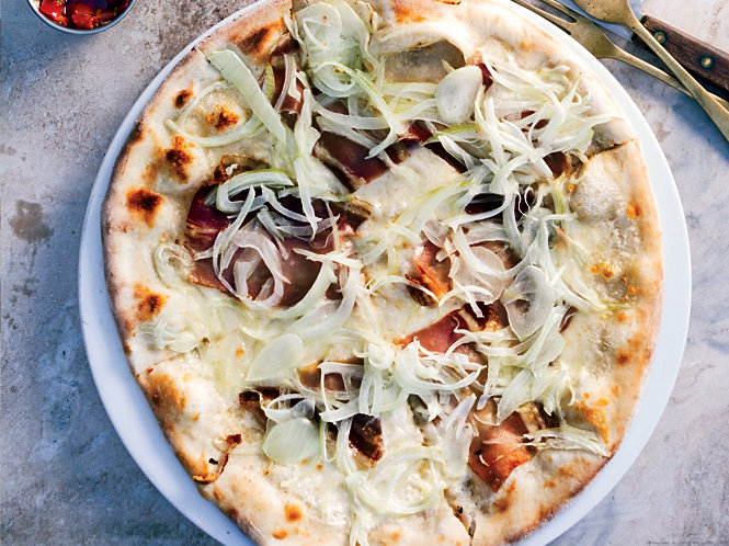 Alsatian pizza recipe norm hardie food wine for Alsatian cuisine